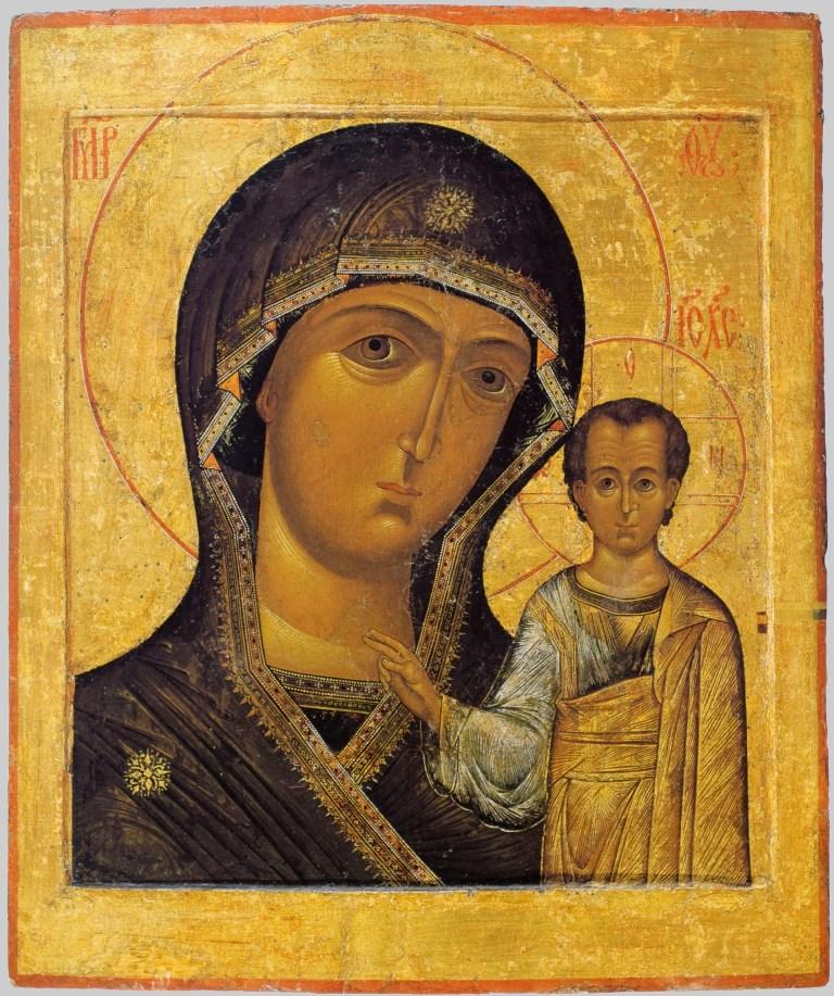 Казанская икона Пресвятой Богородицы. Список из Елоховского собора