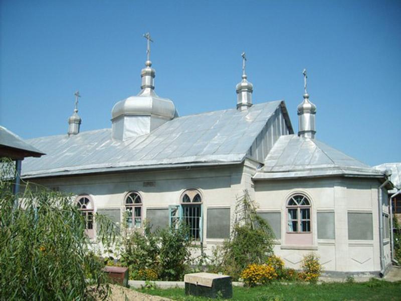 Храм во имя Казанской иконы Пресвятой Богородицы старообрядческого женского монастыря в с. Кунича (Молдавия)