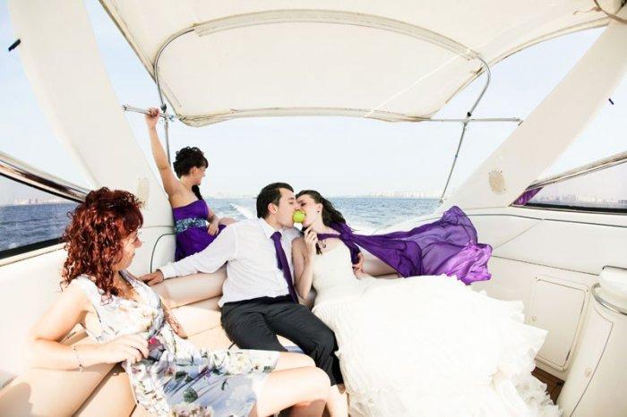 Организация свадьбы на Яхте