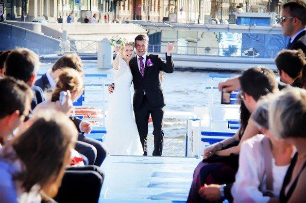 Свадебное торжество на воде