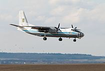 Antonov An-30 (Ukrainian Air Force) 2013 (8734962351).jpg