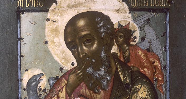 Репродукция иконы Иоанн Богослов