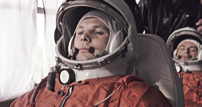 Юрий Гагарин, первый космонавт СССР