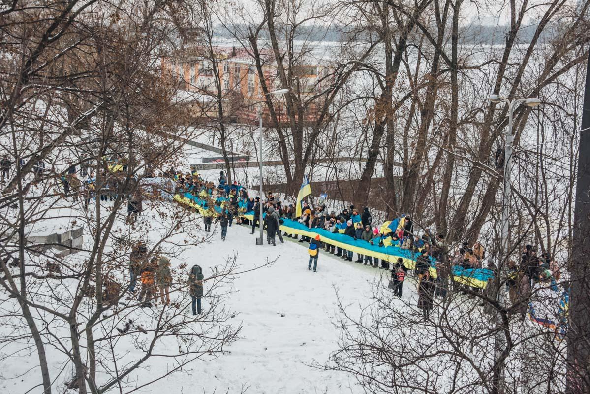 """В 2000-х начали возрождать """"живые цепи"""" в разных городах Украины"""