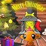Щасливе різдво мавпочки