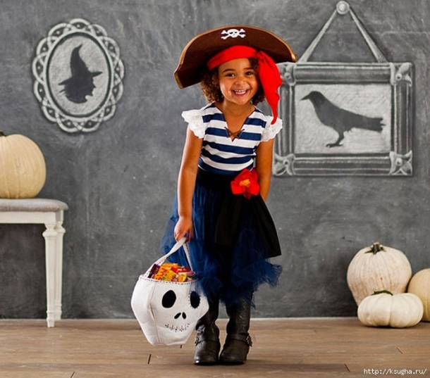 костюм пиратки своими руками юбка туту фото