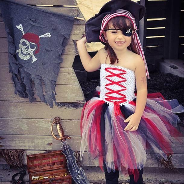 костюм пиратки для детей