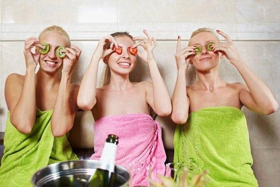Вечеринка в бане