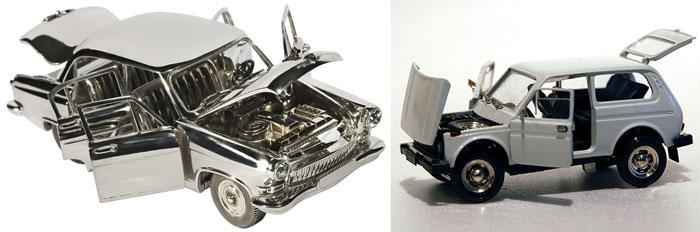Коллекционные модели авто