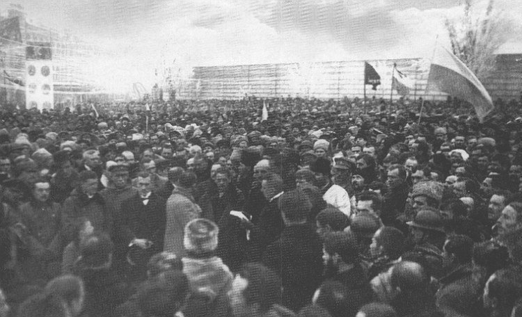 Торжественное провозглашение Акта Объединения УНР и ЗУНР на Софийской площади в Киеве.  года