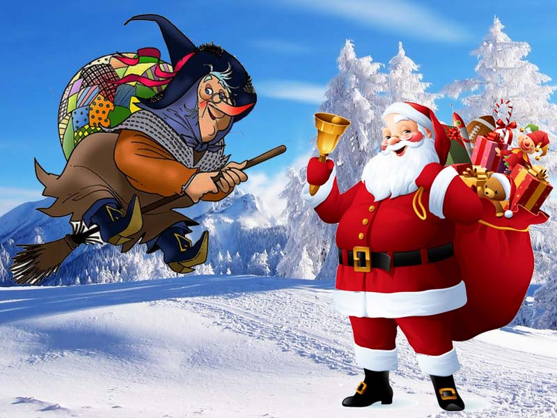 Дед Мороз в Италии: фея Бефана и Баббо Натале