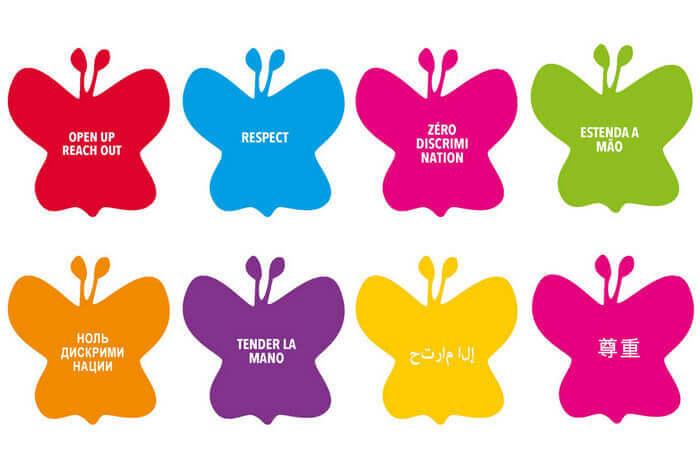 логотип дня Ноль дискриминации