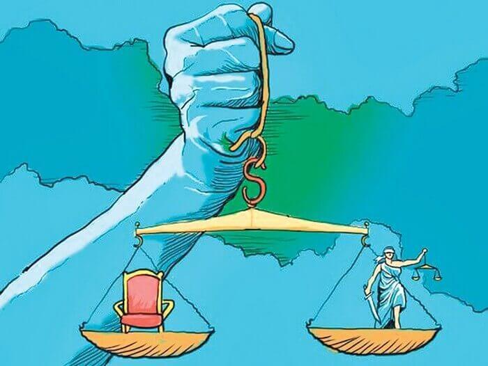 чаша весов правосудия