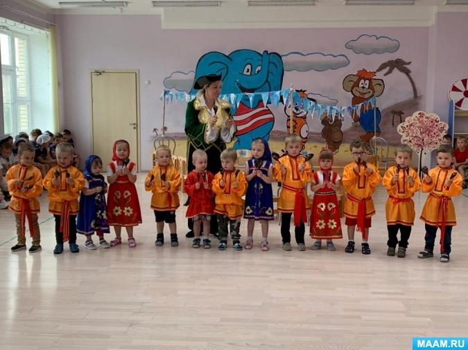 Досуговое мероприятие «Морское путешествие» для всех групп детского сада