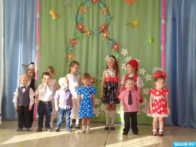 Сценарий праздника 8 Марта в разновозрастной группе детского сада