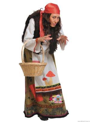 Детский костюм бабы яги