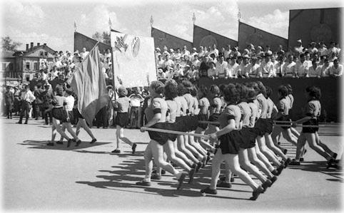 первая Всесоюзная спартакиада