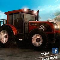 Игра 8-миколесный Трактор онлайн