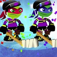 Игра Черепашки-ниндзя: хоккейные звезды онлайн