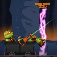 Игра Черепашки-ниндзя: лазерная пещера онлайн