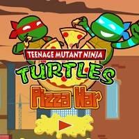 Игра Черепашки-ниндзя: пицца-войны онлайн