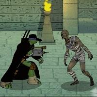 Игра Черепашки ниндзя против монстров онлайн