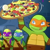 Игра Черепашки-ниндзя: симулятор пиццерии онлайн