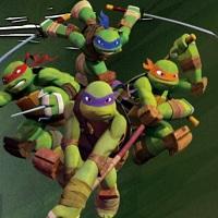 Игра Черепашки Ниндзя на вражеской базе онлайн