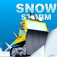 Игра Чистить Снег на Тракторе онлайн