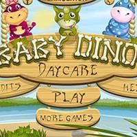 Игра Детский сад для динозавров онлайн