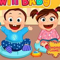 Игра Детский сад: двойняшки онлайн