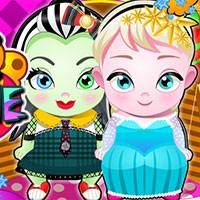 Игра Детский сад: принцессы онлайн