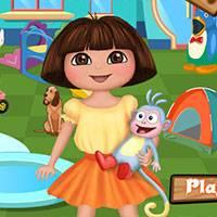 Игра Дора в детском саду онлайн