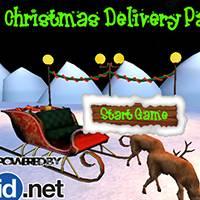 Игра Доставка рождественских подарков онлайн
