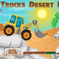 Игра Гонки на Тракторах в Пустыне онлайн