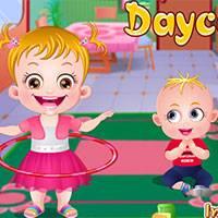 Игра Малышка Хейзел в детском саду онлайн