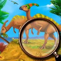 Игра Мир динозавров: поиск объектов онлайн