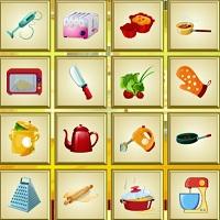 Игра Найди кухонные предметы онлайн