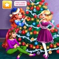 Игра Наряжать рождественскую елку онлайн
