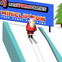 Игра Новый Год: Прыжки на лыжах онлайн