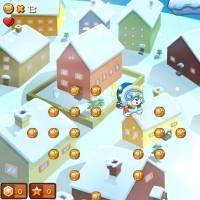 Игра Новогодние полеты онлайн