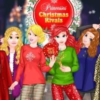 Игра Новогодние соперницы онлайн