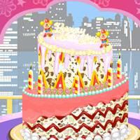 Игра Новогодний торт онлайн