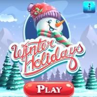 Игра Новогодняя 3 в ряд онлайн