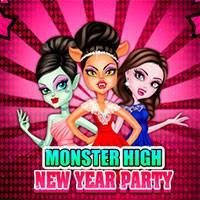 Игра Новогодняя вечеринка Монстер Хай онлайн