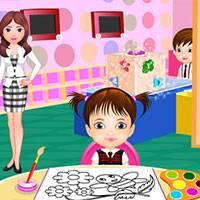 Игра Первый день в детском саду онлайн