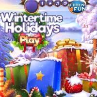 Игра Поиск подарков на новогодних каникулах онлайн