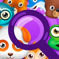Игра Поиск предметов: Комикс про зверей онлайн