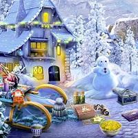 Игра Поиск предметов на Рождество онлайн