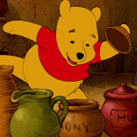Игра Поиск предметов: Винни ищет мёд онлайн